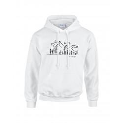 Hegyek - SC design pulcsi