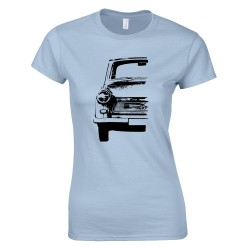 Trabant sziluett női póló
