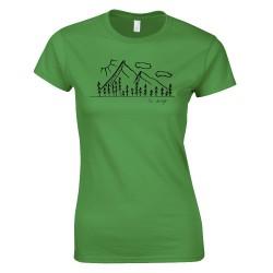 Hegyek - SC design női póló