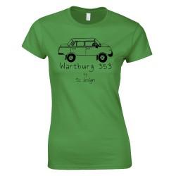 Wartburg - SC design női póló