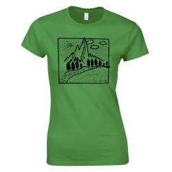 Hegyvidék - SC design női póló