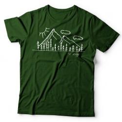 Hegyek - SC design póló